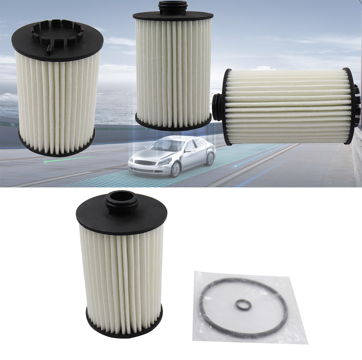 Fit for AUDI A4 A6 A8 Allroad B7 B6 8E 4E VW Phaeton Engine cleaner Oil Filter