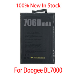 100% Original 7060mAh BL 7000 Battery For Doogee BL7000 Mobile Phone In Stock High Quality
