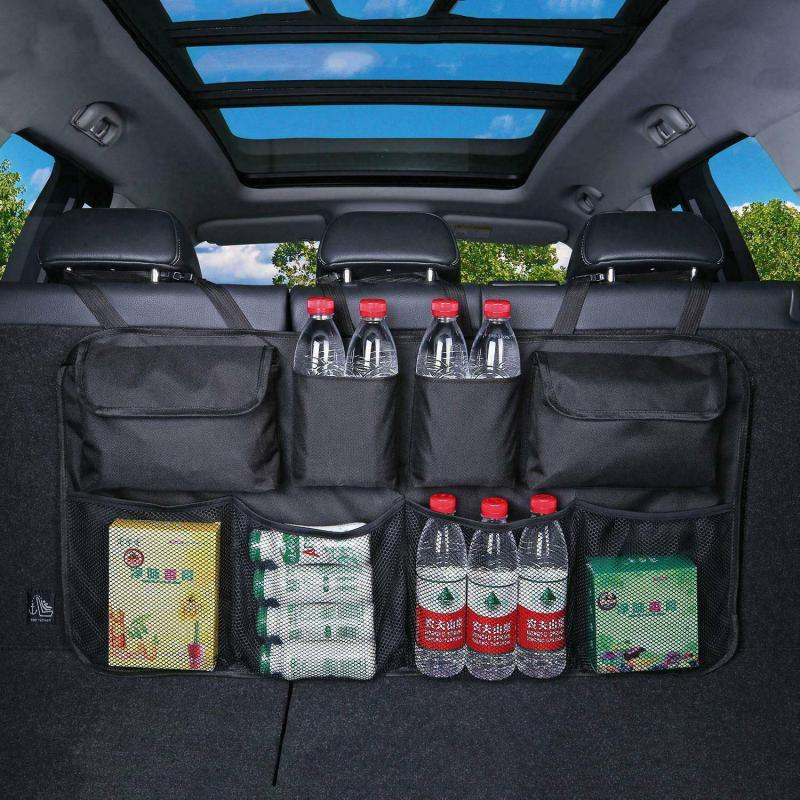 Storage-Bag Car-Trunk-Organizer Automobile Oxford Universal Backseat Multi-Use High-Capacity title=