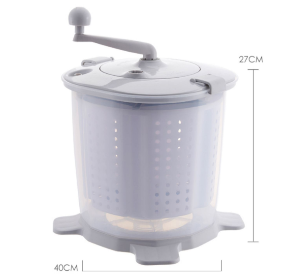 Mini Wash Machine Manual Washing Vegetables  Fruit Homewares Wash Offline Life Accessories