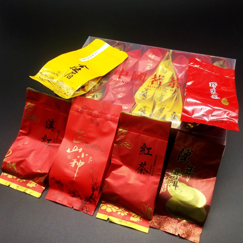 6 kinds of  Black Tea 36 bags High quality Chinese Ginseng oolong Green food Tea 1