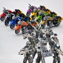 Масштаб 1:36 современный военный мотоцикл sdu армия спецназ