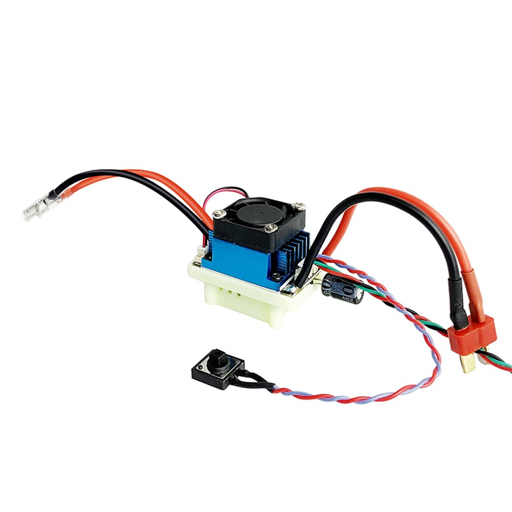 Radiolink Cool 9030 Two-way Brushed Electronic Speed Controller 7-18V 2-4S 90A ESC with BEC 2KHz PWM for RC Car Boat