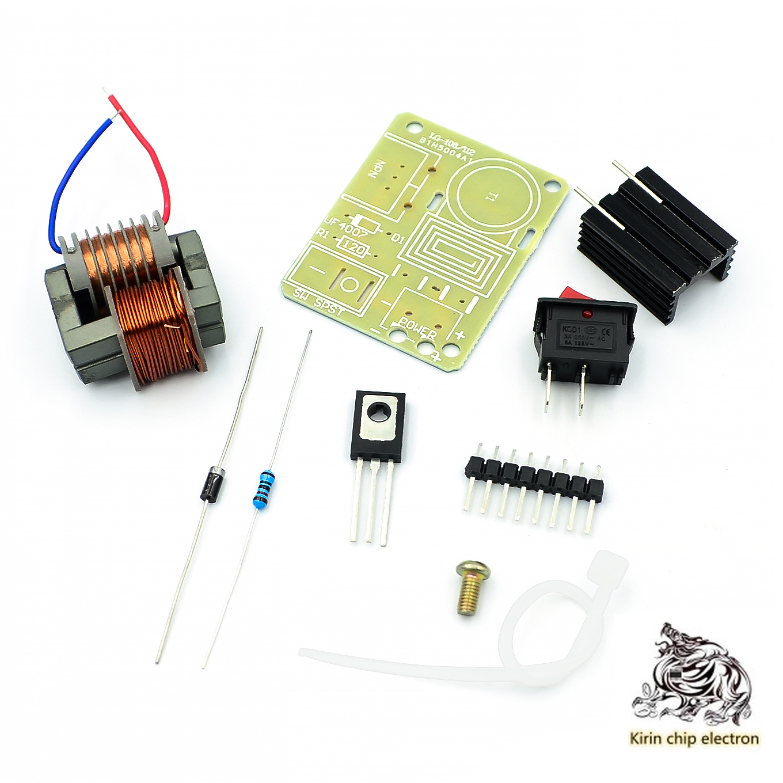 2PCS/LOT 15KV Generator Ignition Coil Module DIY Kit DC 3.7V-4.2V Fire Coil Module