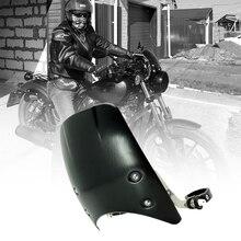 Aluminum Windshield Windscreen  For Harley Davidson Sportster Dyna Glide Softail XL 883 1200 48 72 XL1200 X48 X72 Models 04-2019