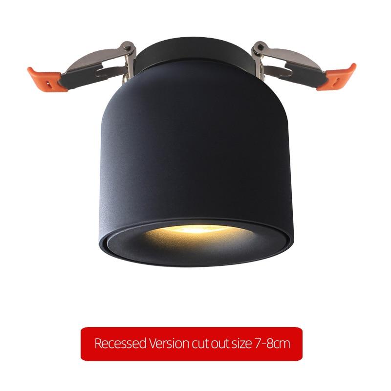 Aisilan светодиодный потолочный светильник, потолочный Точечный светильник, скандинавский светильник для кухни, спальни, CREE чип, встроенные пр...