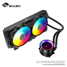 CPU Cooler Radiator Water-Cooling-Kit Bykski AIO One-Piece 12cm Fan 120/240mm PC ARGB