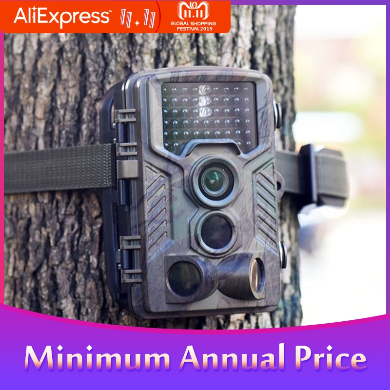 HC800A Hunting Camera Outdoor Surveillance 1080P Wildlife Scouting Camera Waterproof Trail Camera Infrared Night Vision-in Surveillance Cameras from Security & Protection