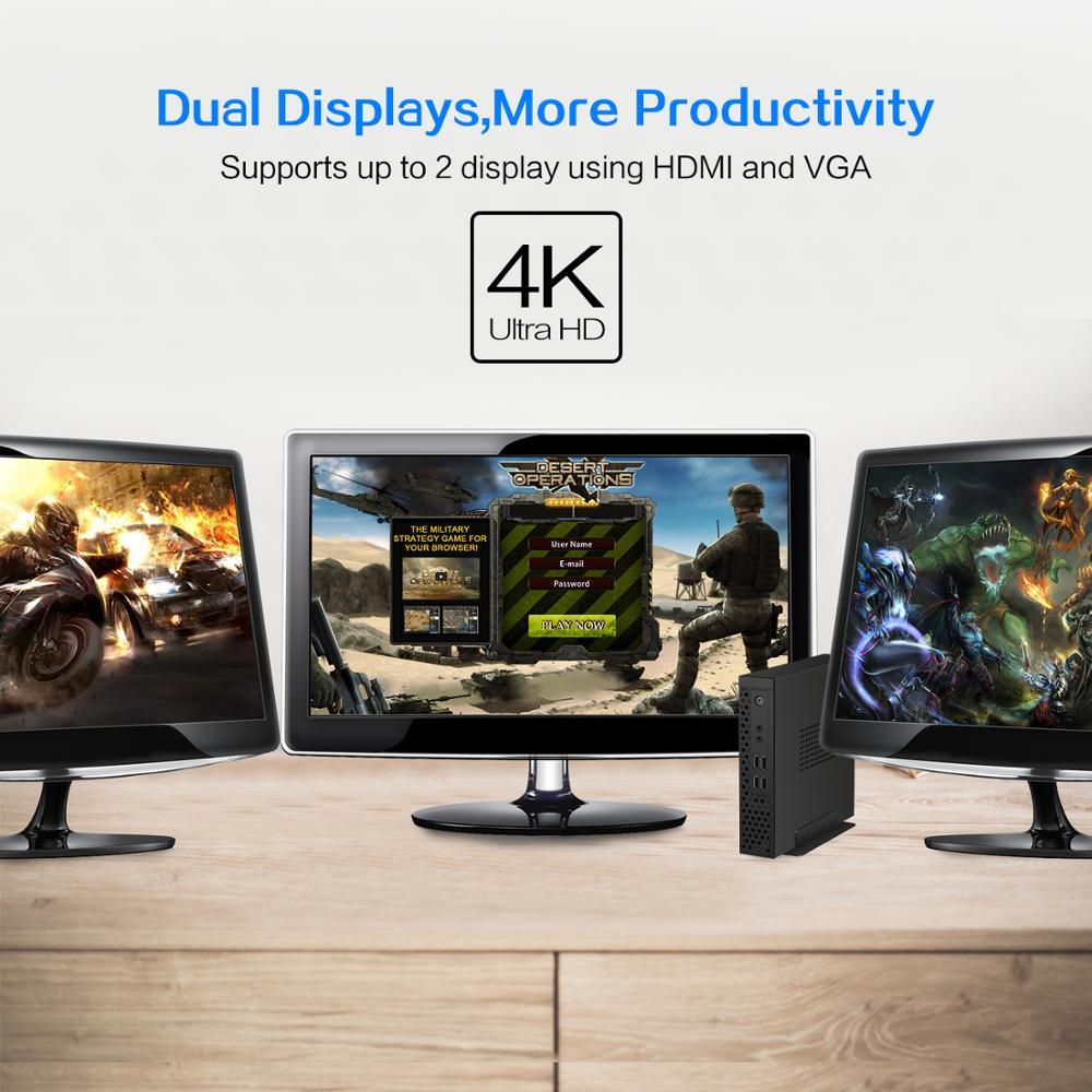 chatreey S1  mini pc Desktop Level intel core i3 10100 i5 10400 Amd Ryzen 3 3200G Ryzen 5 3400G ITX gaming computer thin client 5