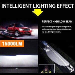 Image 3 - Светодиодная лампа H7 Canbus, светодиодные лампы H1 с чипами Samsung H11 H4, Светодиодные Автомобильные фары H8 9005 HB3 9006 HB4, светодиодная лампа, противотуманные фары лм