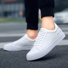 Новые весенние белые туфли на шнуровке для тенниса Женская однотонная обувь из искусственной кожи повседневная женская обувь кроссовки#3