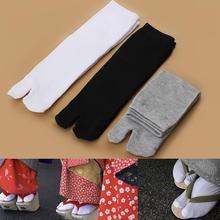 1 пара дышащий бамбук волокно ниндзя таби сандалии унисекс японский кимоно сплит гета новинка флоп мужчины женщины мода горячая распродажа