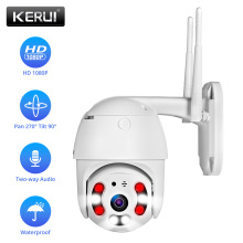 KERUI Outdoor Waterproof Wireless CCTV IP Camera 1080P WIFI Dome Camera Home Security Alarm System Night Vision Remote Monitor