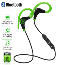 Sport Bluetooth Wireless Earphone Stereo Ear-hook Sports Noise Reduction Earphones With Microphone