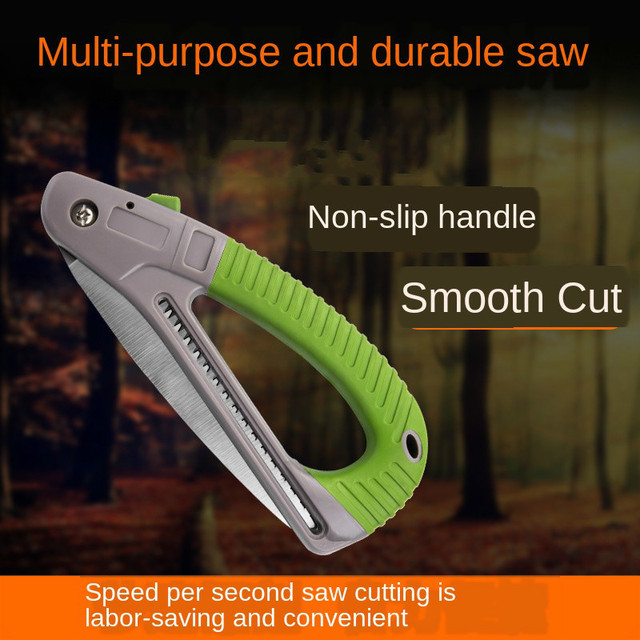 Scie pliante rapide scie à main scie de jardinage en plein air scie à élagage compacte scie à main scie de jardin scie à arbre fruitier scie forestière