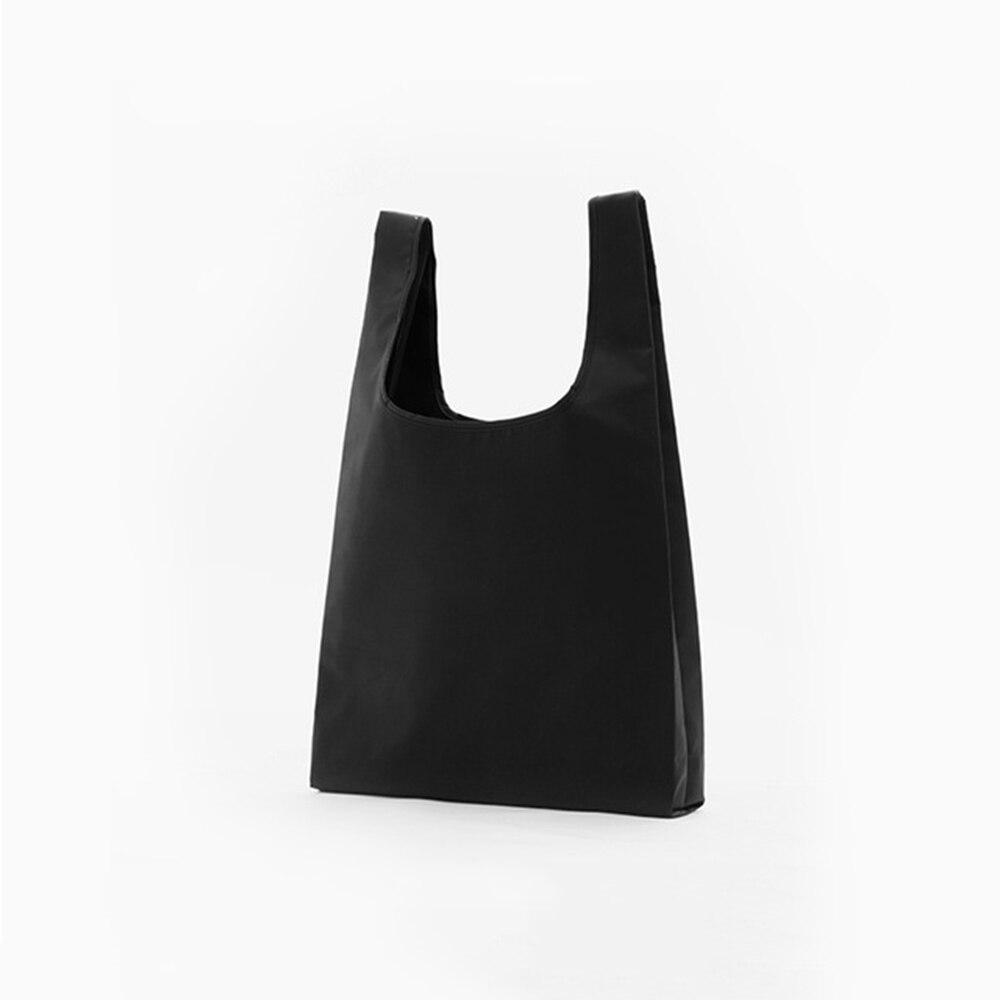 Pocket Square Shopping Bag Eco-friendly Folding Reusable Portable Shoulder Handbag Waterproof Nylon For Travel Grocery Bags