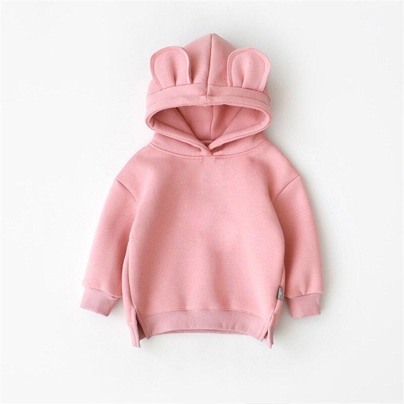 Sweatshirt Hooded Baby-Boys-Girls Kids Children's New Autumn Spring Cotton Infant Casual