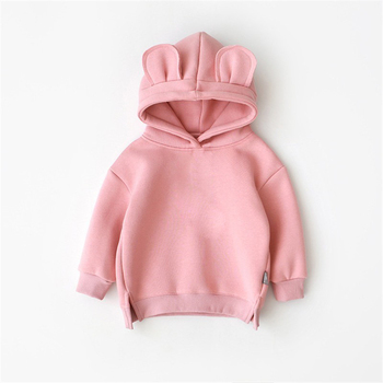 New Spring Autumn Baby Boys Girls Clothes Cotton Hooded Sweatshirt Children Fashion Hoodies Kids Casual Infant Cartoon Clothing spring autumn baby clothes suit children boys girls cartoon pattern hooded toddler fashion casual clothing kids outing costume