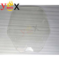 FJR 1300 14 16 Motorycle 4MM Windshield Windscreen Front Glass Deflector For Yamaha FJR1300 2014 2106 2015
