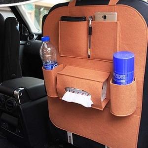 Image 5 - Car Rear Seat Storage  Box Multi pocket Storage Bag for Cadillac XTS SRX ATS CTS/Renault Koleos Fluenec Latitude