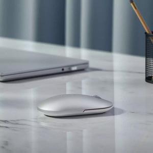 Image 5 - שיאו mi Mi אלחוטי עכבר Bluetooth עכבר משחק עכברים 1000dpi 2.4GHz WiFi קישור אופטי עכבר Mi ni מתכת נייד עכבר