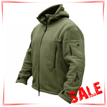 Tactical Hunting Apparel for Men  Solid Thermal Winter Jacket  Military Jacket  Hunting Clothes Soft Breathable Hooded Coat 1