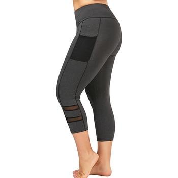 цена на 4XL Plus Size Leggings Women Seamless Workout Leggings Fitness leggins Elastic Bottoming Pants Lace Sexy Clothing Gym Leggings