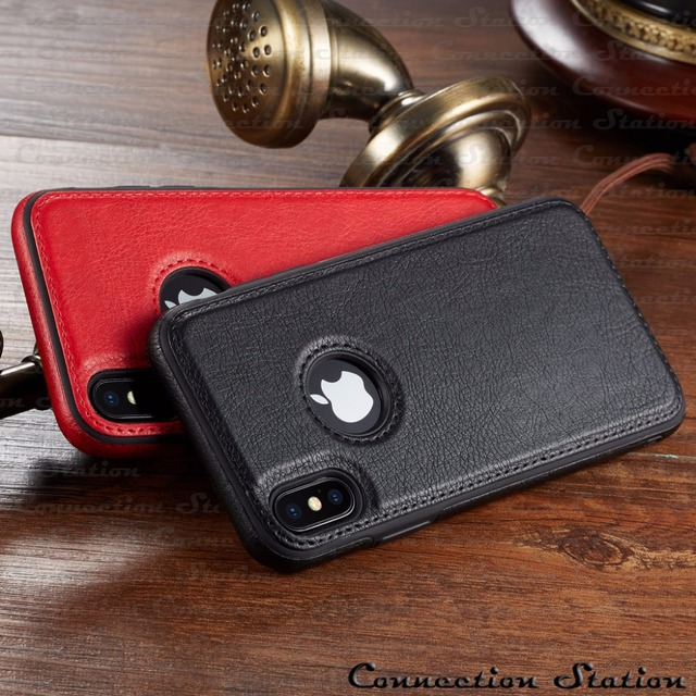 Vintage Leather Case iPhone Xs Max 5