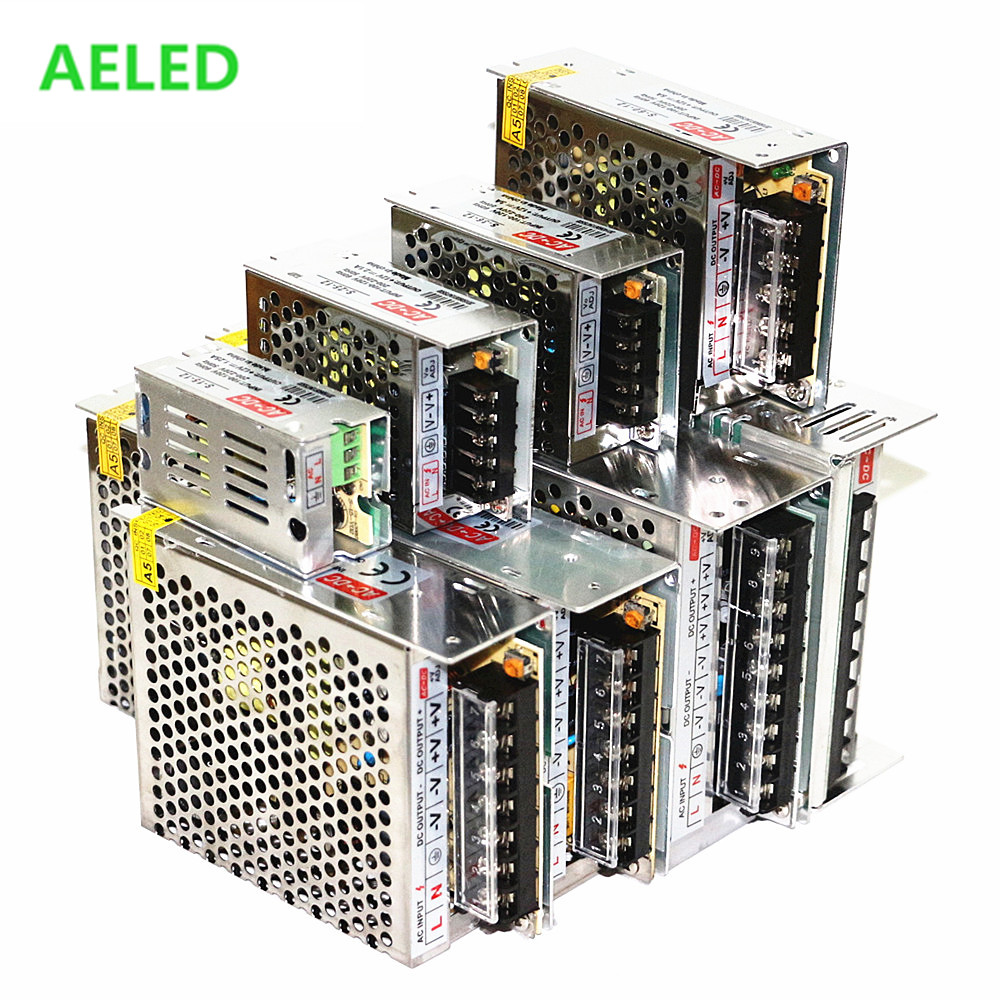 Power Supply <font><b>DC</b></font> <font><b>5V</b></font> <font><b>12V</b></font> 24V 48V 1A <font><b>3A</b></font> 5A 10A 15A 20A 30A 40A Transformers For LED Lighting Adapter Driver For LED Strip Light int image