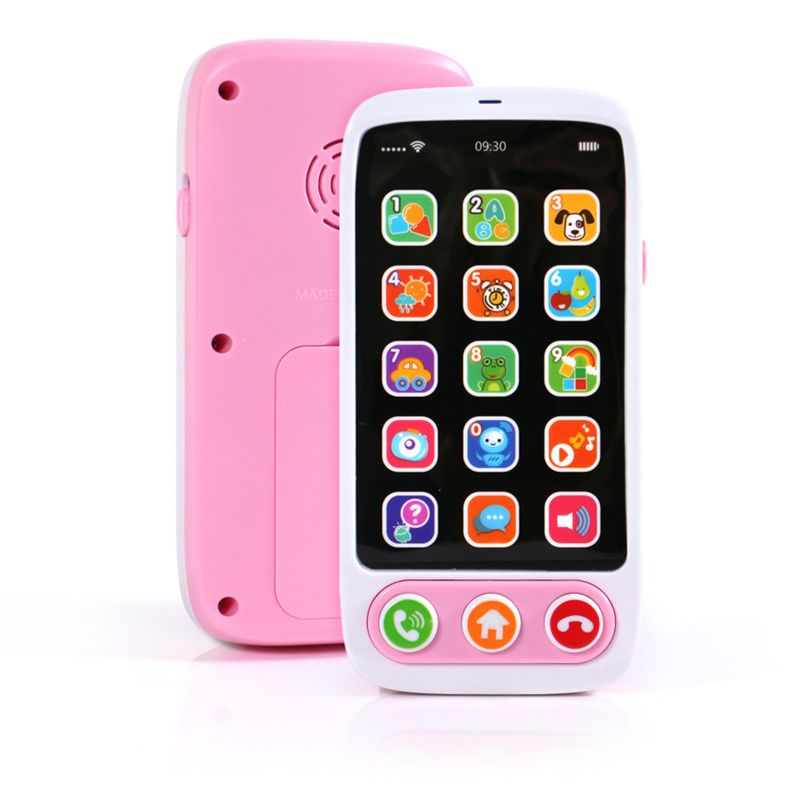 High Quality Kids Smart Screen Mobile Phone Toy Multi-function Simulation 24BE
