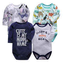Babies Girls Clothing Jumpsuit Newborn Baby Boys Romper Long Sleeve 3-24 Months Infant Clothes baby rompers hugolovestiki newborn boys romper infant girls clothes red bunny long sleeve hooded zipper jumpsuit winter clothing