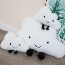 Creative Cute Cloud Pillow Plush Toy Stuffed Cloud Doll Plush Pillow Home Car Cushion Children Ragdoll Toys Gift цена 2017