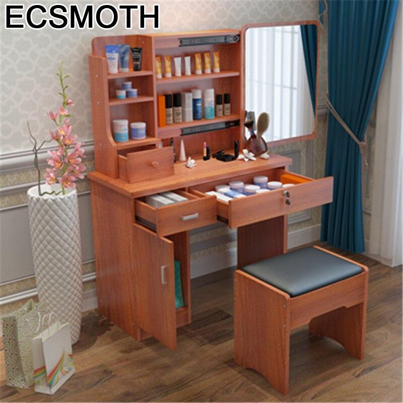 Dormitorio Toaletka De Maquillaje Tocador Dressing Slaapkamer Vanity Wooden Bedroom Furniture Penteadeira Table Quarto Dresser