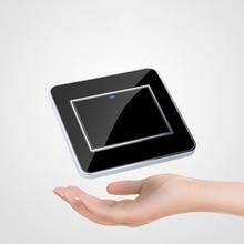 Умный сенсорный настенный светильник с пультом дистанционного управления, 1 комплект, 1 способ, светодиодный индикатор