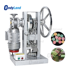 كاندلاند THDP 5 الكهربائية قرص فوار آلة الضغط المنزلية الحلوى السكر صانع واحد لكمة ماكينة صنع الماسات