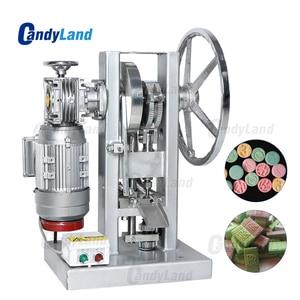 Image 1 - كاندلاند THDP 5 الكهربائية قرص فوار آلة الضغط المنزلية الحلوى السكر صانع واحد لكمة ماكينة صنع الماسات