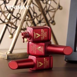 Image 5 - VINIMAY Brand Red Gel Nail Polish vernis semi permanant UV Nail Gel Lak Primer Soak Off Nail Art Gel Varnish Gelpolish Manicure