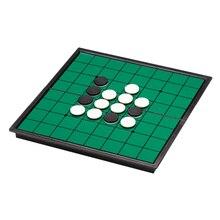 Магнитный Портативный флип шахматы и складные Reversi Отелло доска шахматы стандартные образовательные родитель-детская доска игра игрушка