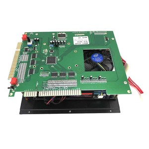 Image 2 - Gmae King V2.4 Multi classic jamma game board Arcade Multigame PCB 2100 in 1 with ATX POWER SUPPLY