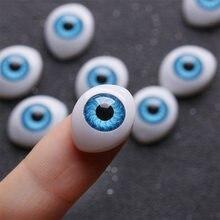 20 pçs/set quente nova boneca olhos de segurança para diy brinquedo olhos animais brinquedo fantoche fazer dinossauro olhos diy artesanato acessórios brinquedos diy olhos