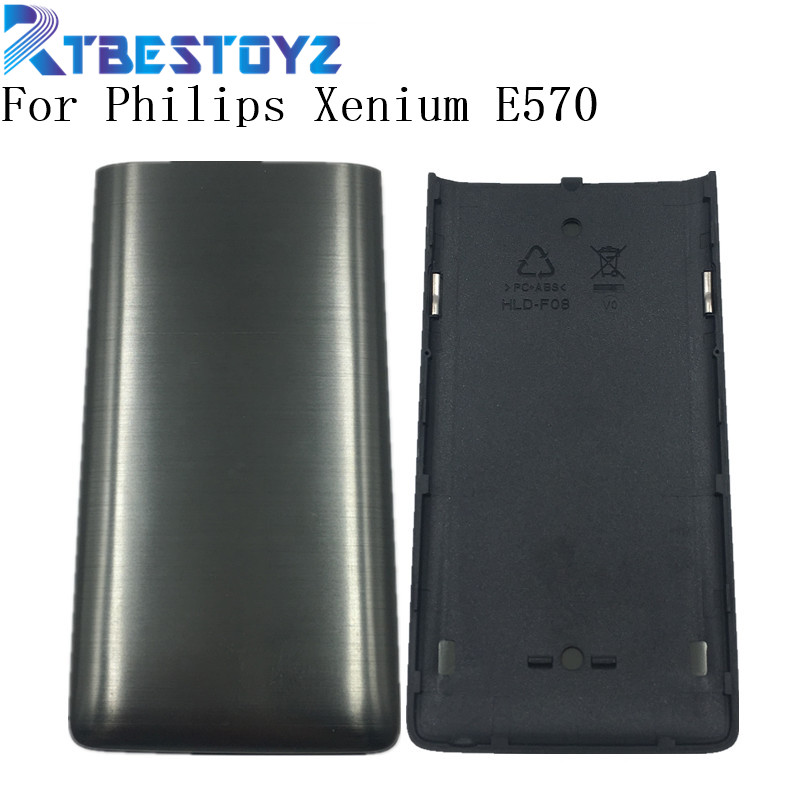 Original Back Housing For <font><b>Philips</b></font> <font><b>E570</b></font> CTE570 Mobile Battery Cover For Xenium Cellphone image