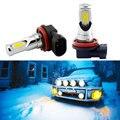 VANSSI 2 шт. H8 H11 светодиодный лампы H16 H10 9145 HB3 9005 HB4 9006 светодиодный автомобильный противотуманный фонарь супер яркий 2400lm DC12-24V автомобилей Angel Eyes ...