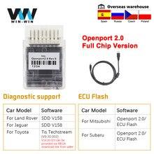 Tactrix Openport 2,0 ECU-OBD 2 OBD2 open port 2 0 Chip Tuning Auto Diagnose-Tool Für Mercedes Für toyota Auto Scanner