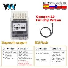 Tactrix openport 2.0 ecu flash obd 2 obd2 porta aberta 2 0 chip tuning ferramenta de diagnóstico do carro para mercedes para toyota scanner automóvel