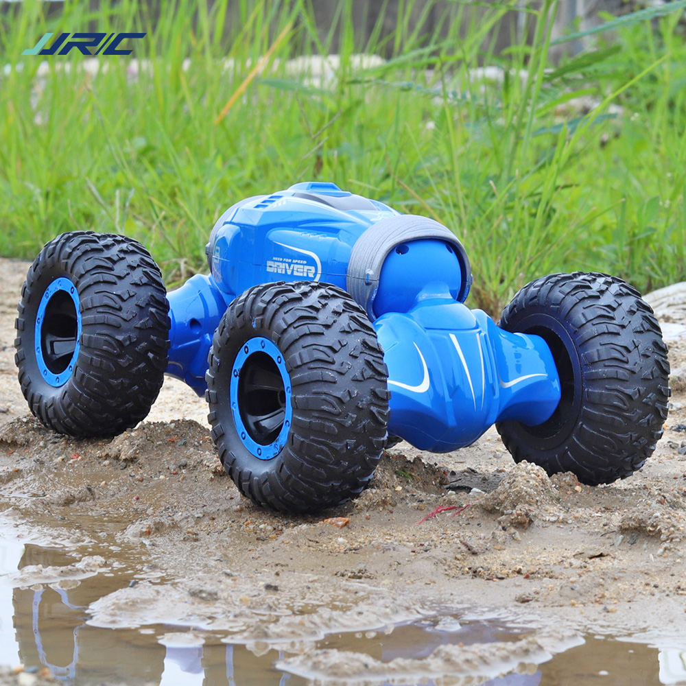 JJRC Q70 Double-sided Drive RC Car Radio Control 2.4GHz 4WD Twist- Desert Cars Off Road Buggy Toy High Speed Climbing RC Car