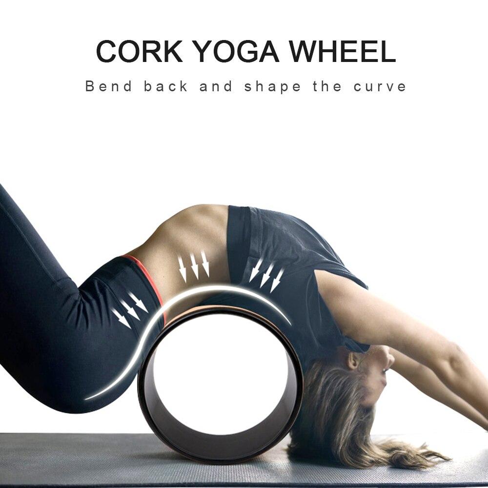 wood yoga wheel