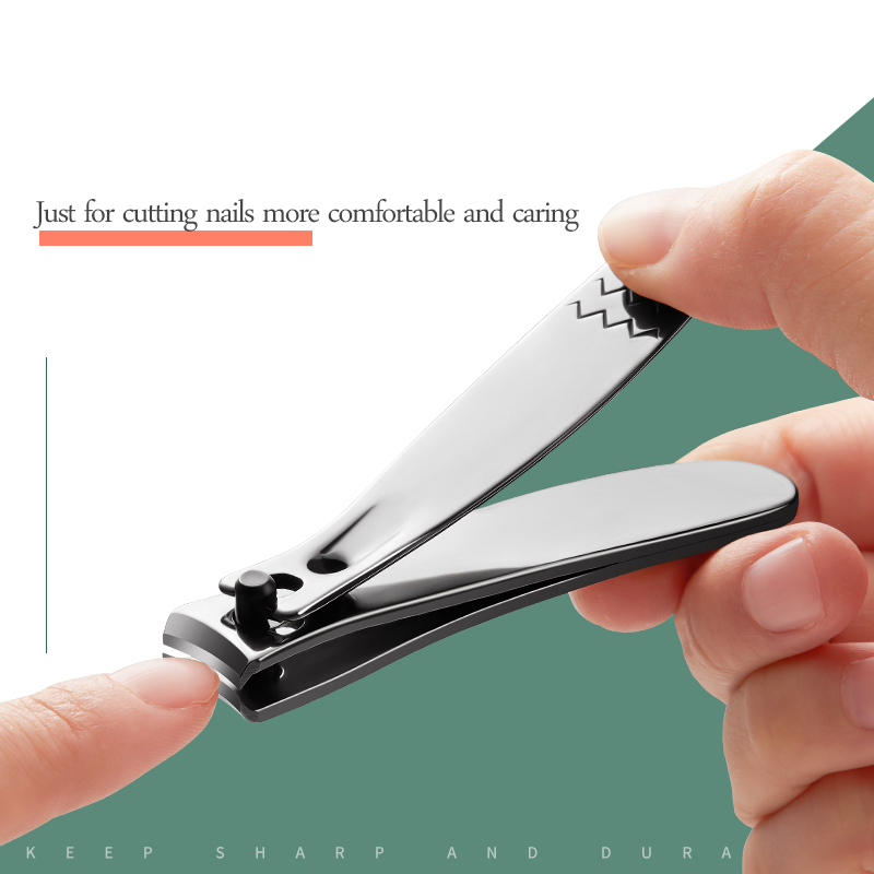 preto conjunto portátil cortador unha manicure ferramentas aparador com arquivo unhas