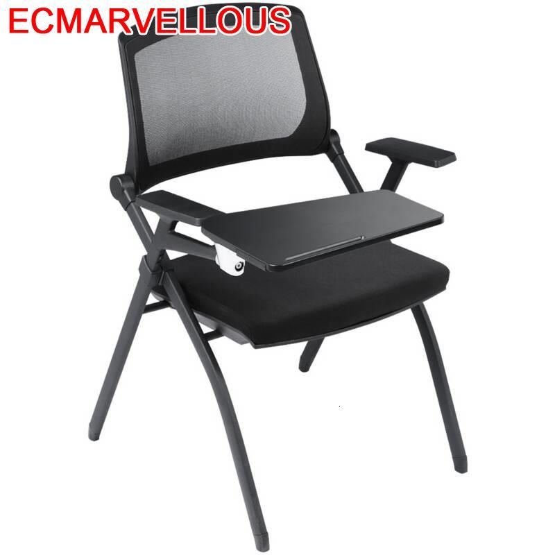 Bureau Meuble Etudiante Training Institution Living Room Furniture Modern De Silla Oficina Folding Office Board Conference Chair