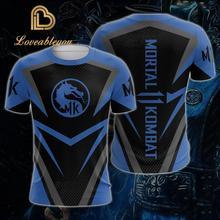 Game Mortal Kombat 11 3D Short Sleeve T-shirt Men Women Print T shirts 2019 Fashion Tops Tees