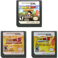 DS Video Game Cartridge Console Card Dragonn Ball Series For Nintendo DS 1